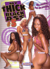 My thick black ass 5 front cover