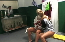 Locker room fun.
