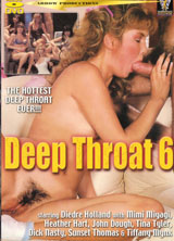 Deep Throat 6 front cover