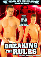 Breaking The Rules porn dvd cover
