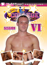 Gay College Sex Parties Session 4 porn dvd cover