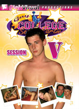 Gay College Sex Parties Session 5 front cover