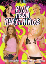 Pink Teen Playthings front cover