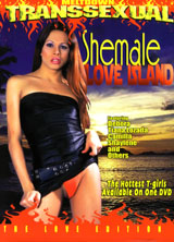 Shemale Love island porn dvd cover