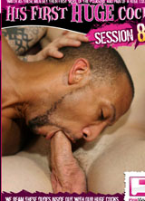 His First HUGE Cock Session 8 porn dvd cover