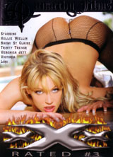 xXx Rated #3 front cover