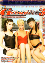 Groupies #3 front cover