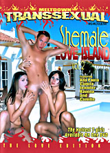 Shemale Love island #2 porn dvd cover