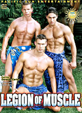 Legion of Muscle porn dvd cover