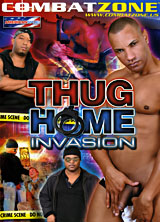 Thug Home Invasion porn dvd cover