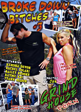 Broke Down Bitches #3 porn dvd cover
