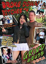 Broke Down Bitches #4 porn dvd cover