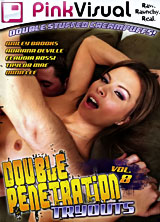 Double Penetration Tryouts #8 front cover
