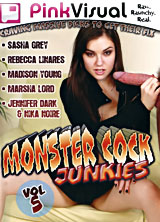 Monster Cock Junkies #5 front cover