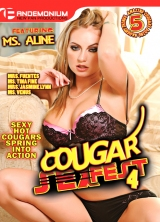 Cougar Sex Fest #4 front cover