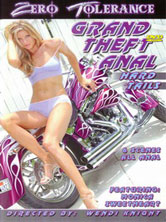Grand theft anal - hard tails DVD Cover