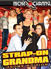 Strap-On Grandma - 3some Edition DVD Cover