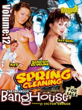 The Infamous BangHouse Vol.12 Spring Cleaning Part 2 DVD Cover