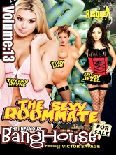 The Infamous BangHouse Vol 13 The Sexy Roommate Part 2 DVD Cover