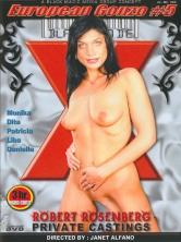 European Gonzo #5 Robert Rosenberg Private Castings DVD Cover