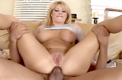 Anal Busty MILF Loves Pounding