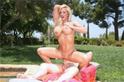 It's cleaning day for Shyla Stylez